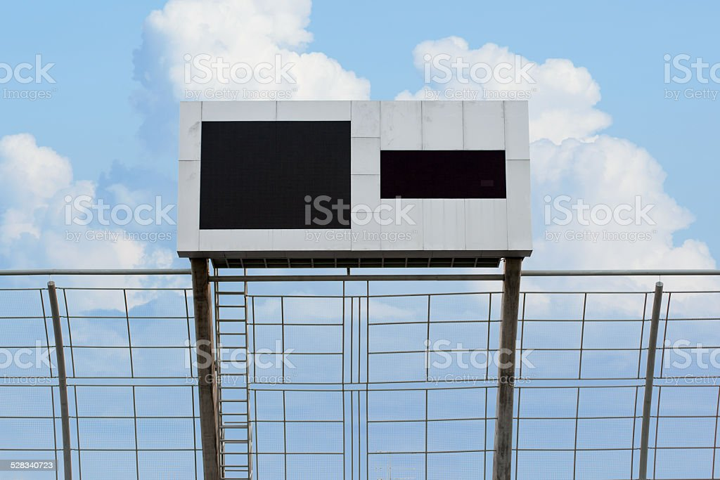 Blank Score Board Royalty Free Stock Photo