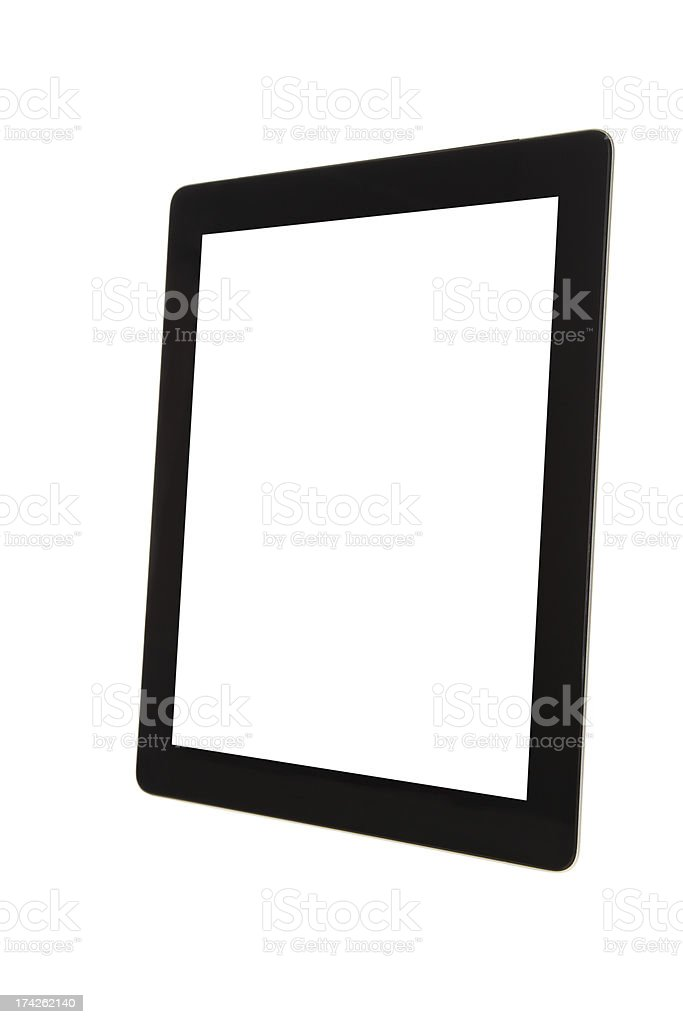 Blank Screen Digital Tablet-XXXL stock photo
