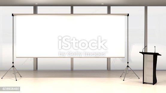 istock Blank screen 628908492