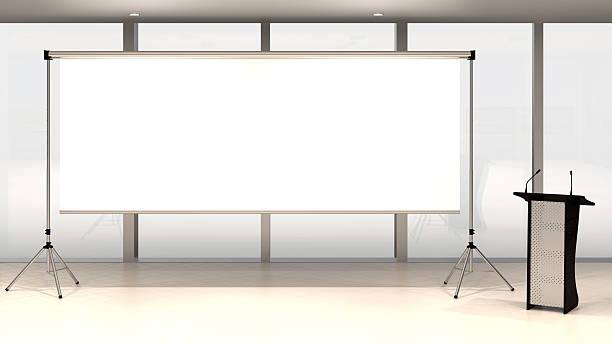 blank bildschirm - große leinwand stock-fotos und bilder
