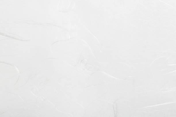 天然繊維を和紙の空白のシート - 和紙 ストックフォトと画像