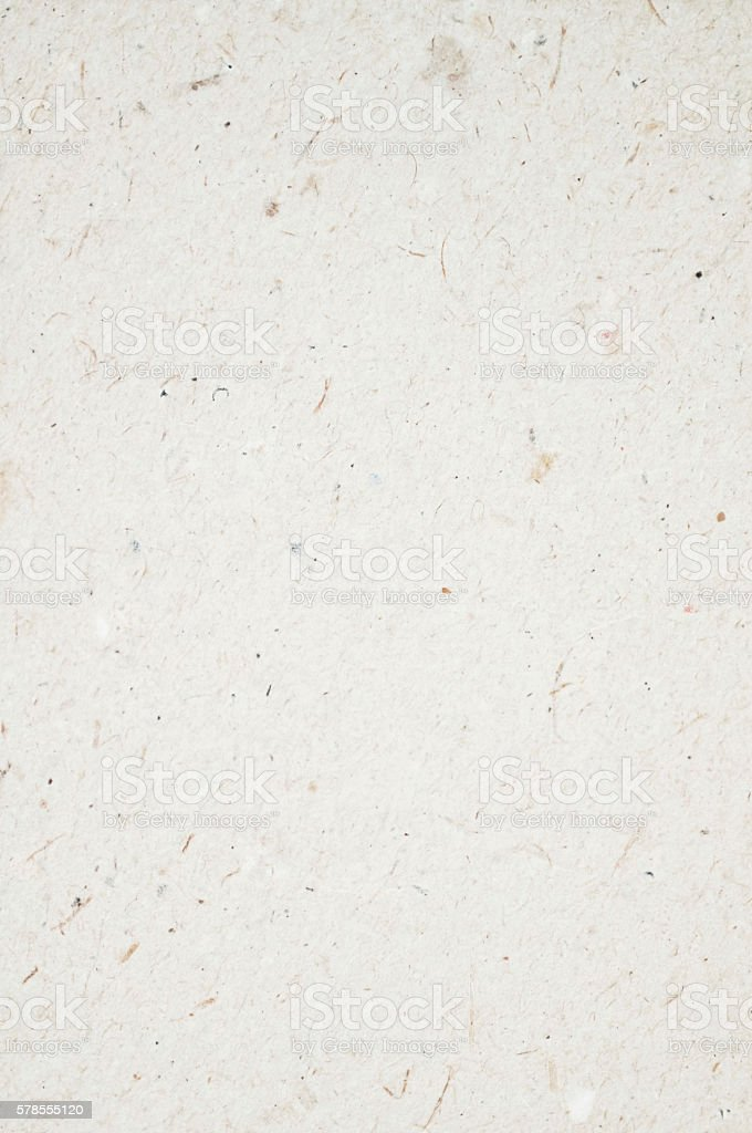 blank sheet of paper from recycled paper very unclean stock photo