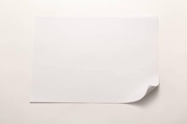 Leeres Blatt Papier  – Foto