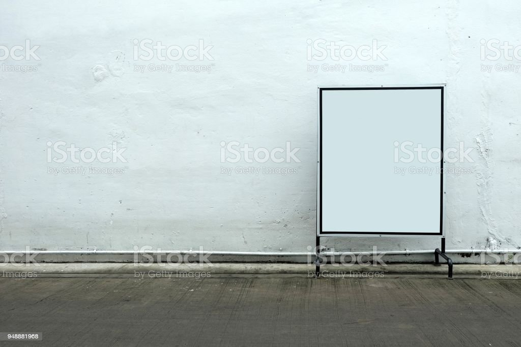 blank sign in concrete room background stock photo more pictures