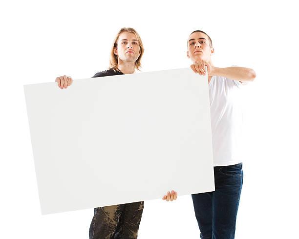 sinal em branco - greve imagens e fotografias de stock