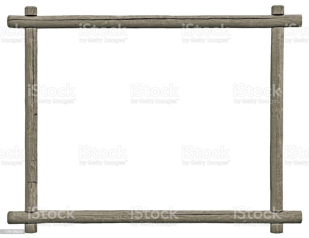 Placa quadro em branco, isolado espaço para texto cinza, textura de madeira - foto de acervo