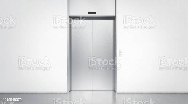 Blank silver closed elevator in office floor interior mock up picture id1019949372?b=1&k=6&m=1019949372&s=612x612&h=btzgq7qudyf7vptyj8rtz9ubatza7bdgzawgwtvtj8y=
