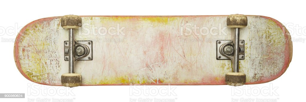 Blank Skateboard stock photo