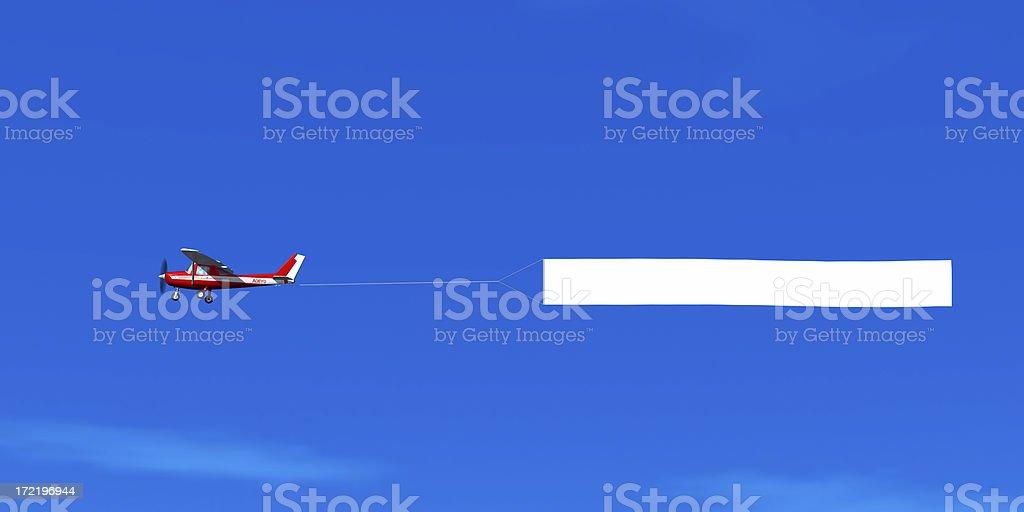 Bannière blanc ciel - Photo