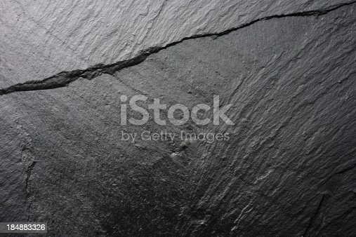 Close-up shot of shiny blank slate textured backgrounds.