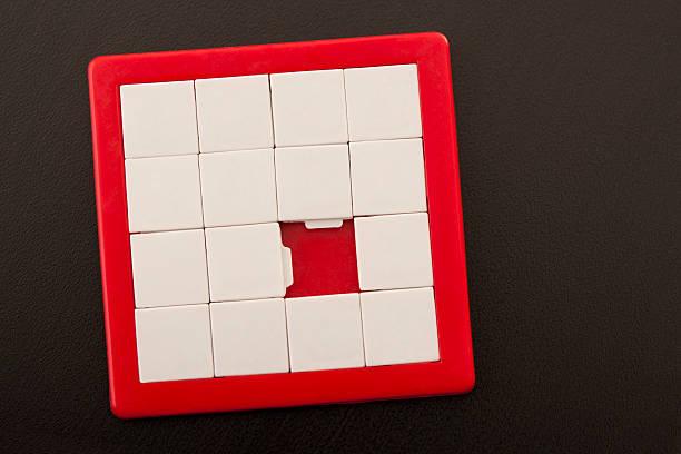 Leere Folie puzzle – Foto