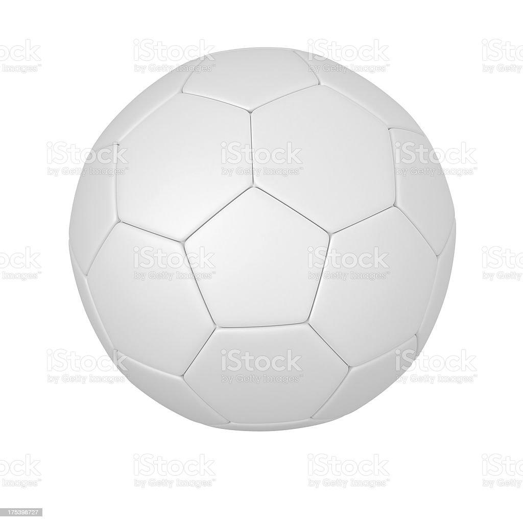 blank Soccer Ball stock photo