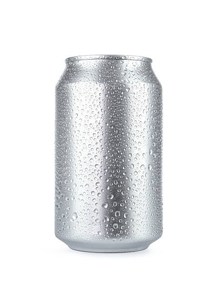 blank soda can with copy space - condensation stock photos and pictures