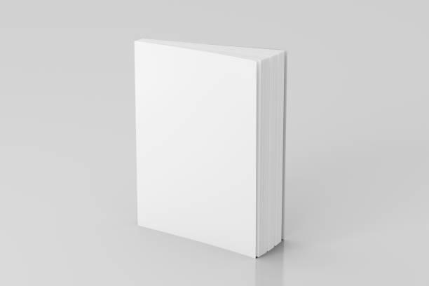 pé de livro em branco macio da cor - brochura - fotografias e filmes do acervo
