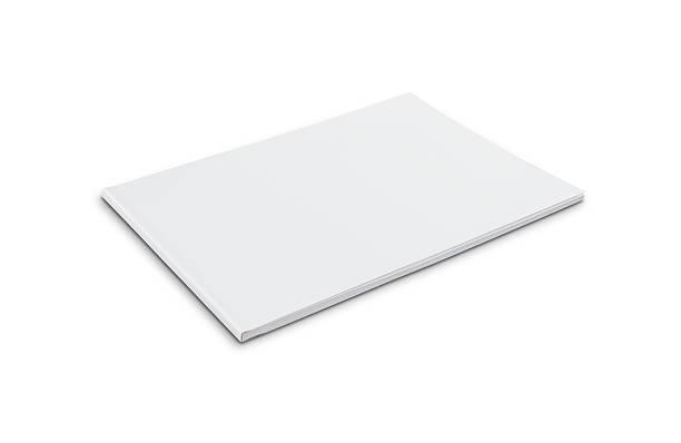 em branco softcover reserve (paisagem - brochura - fotografias e filmes do acervo