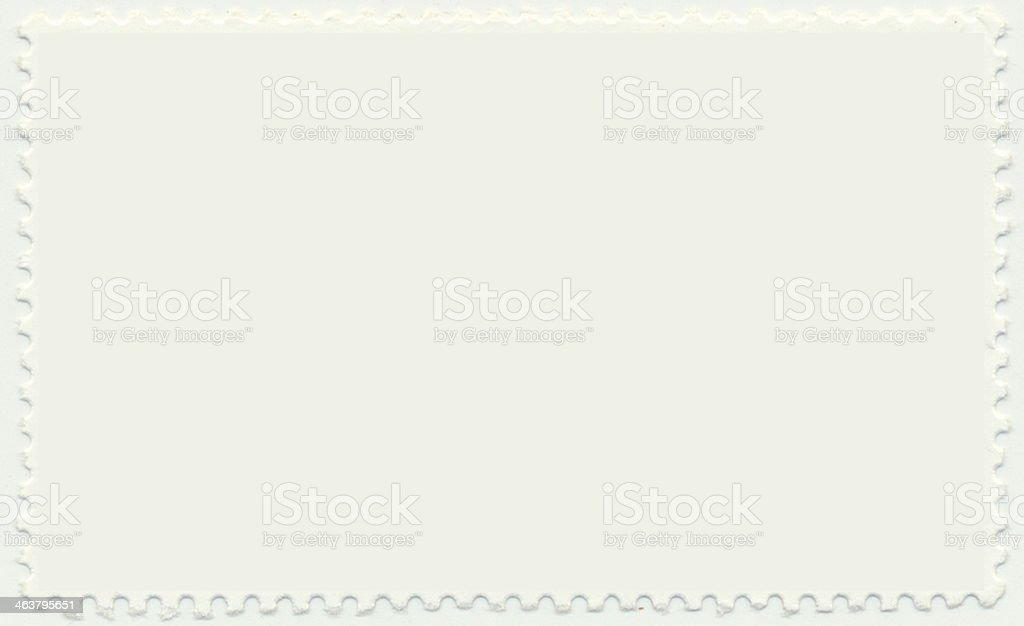 blank stamp stock photo