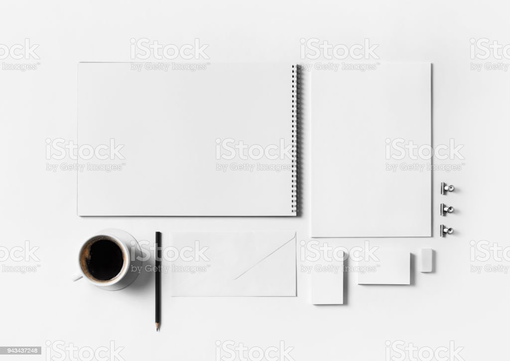 Blank stationery template stock photo more pictures of blank stationery template royalty free stock photo spiritdancerdesigns Choice Image