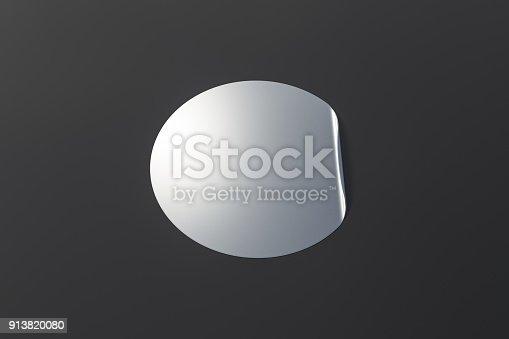 913812376 istock photo Blank sticker label 913820080