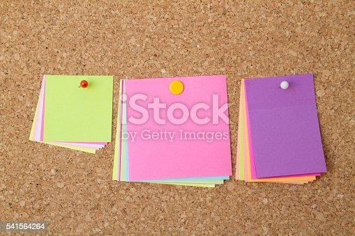 istock blank sticky notes 541564264