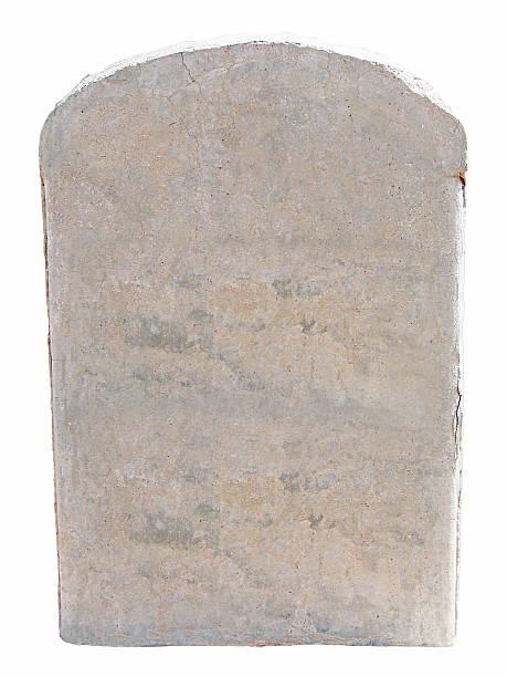 Tablette de pierre vide - Photo
