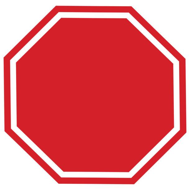 señal de stop blanco - stop sign fotografías e imágenes de stock