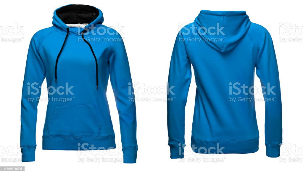 df495164f Blank Sweatshirt Template Front And Back View Isolated On White ...