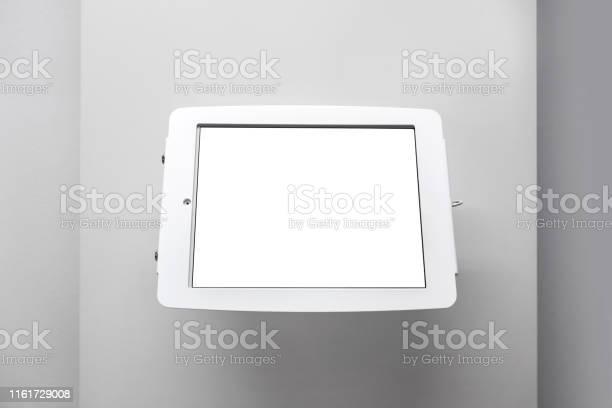 Blank tablet information display on wall picture id1161729008?b=1&k=6&m=1161729008&s=612x612&h=fryqvdecc1dudsyho1srd4k8p13cnctgsx7xgngforu=