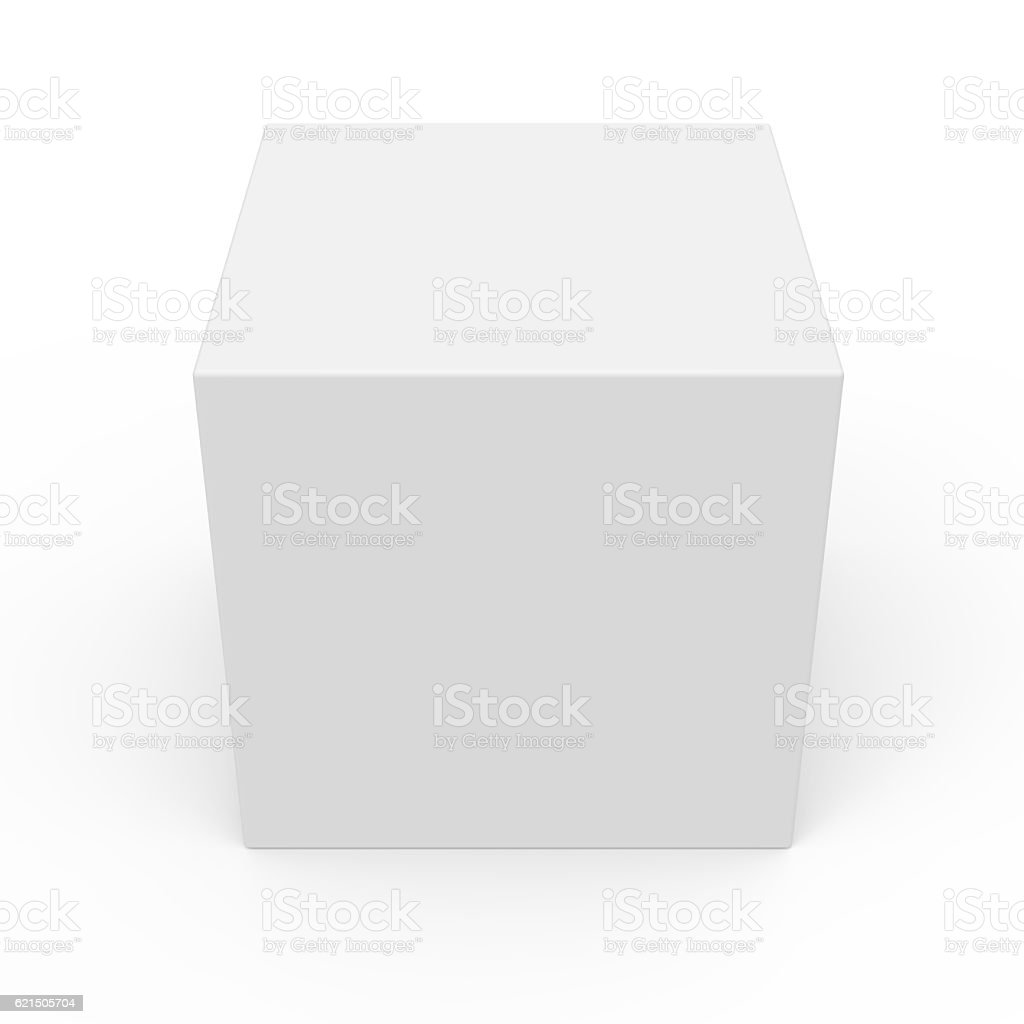 blank template box model photo libre de droits