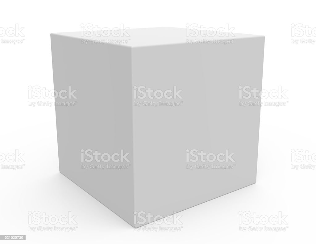 blank template box model foto stock royalty-free