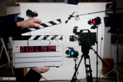 time code film slate, just add your own information to the blank slate