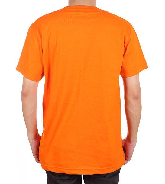 Leeren t-shirt für Männer (Rückseite – Foto