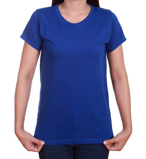 Leeren t-shirt für Frauen – Foto
