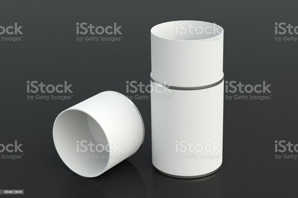 빈 튜브 용기 - 로열티 프리 가리기 스톡 사진
