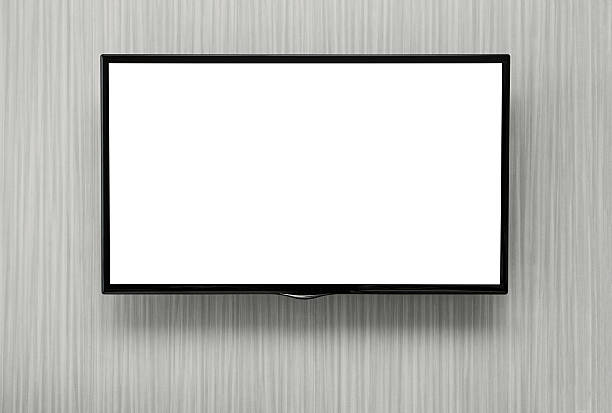 blank tv - flat screen stock photos and pictures