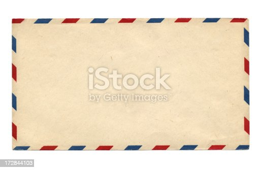 Vintage air mail envelope (1947)