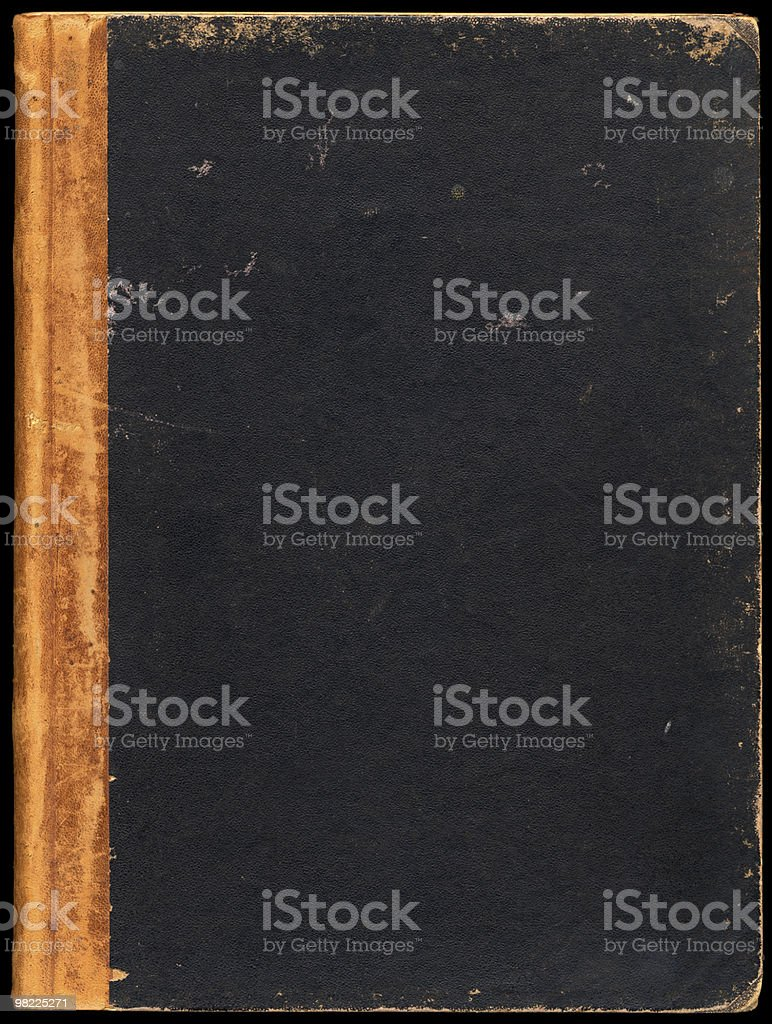 Blank Vintage Book Cover XXL royalty-free stock photo