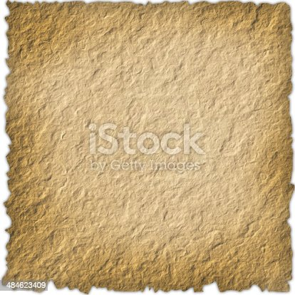 144325206 istock photo Blank vintage  paper isolated on white background 484623409