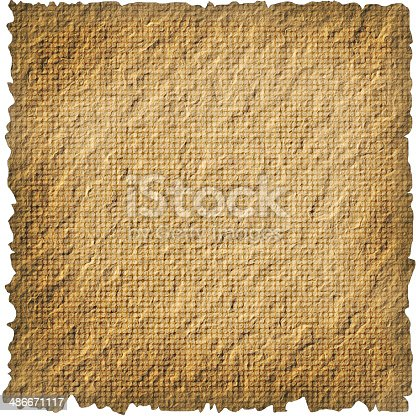 144325206 istock photo Blank vintage  paper isolated on white background 486671117