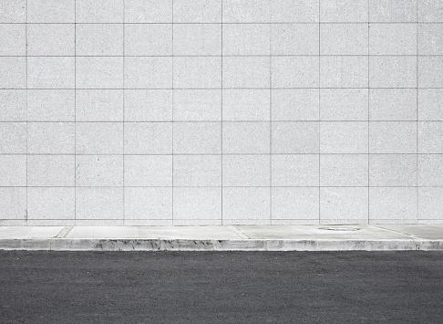 Blank wall XXXL