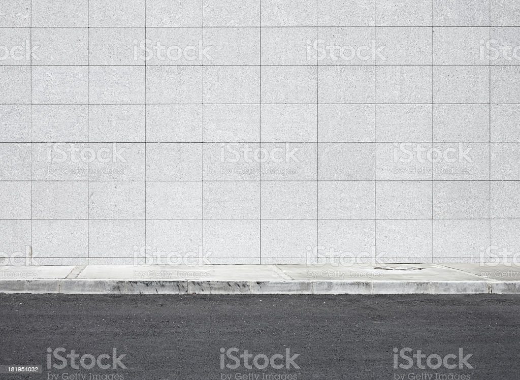 Blank wall XXXL stock photo