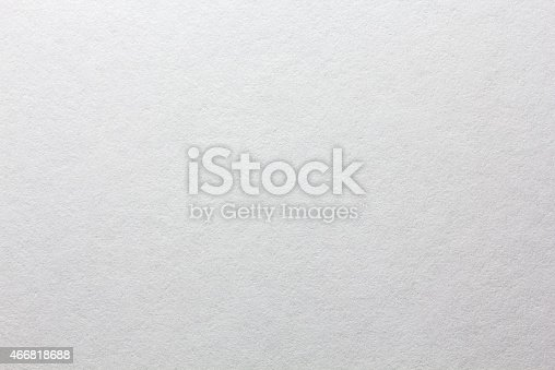 istock Blank watercolor textured paper canvas 466818688