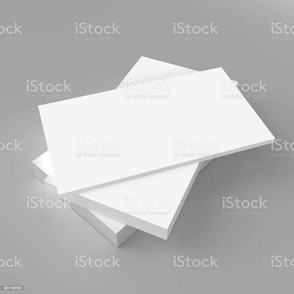 Blank white 3d visiting card and business card template 3d render blank white 3d visiting card and business card template 3d render illustration for mock up and cheaphphosting Choice Image