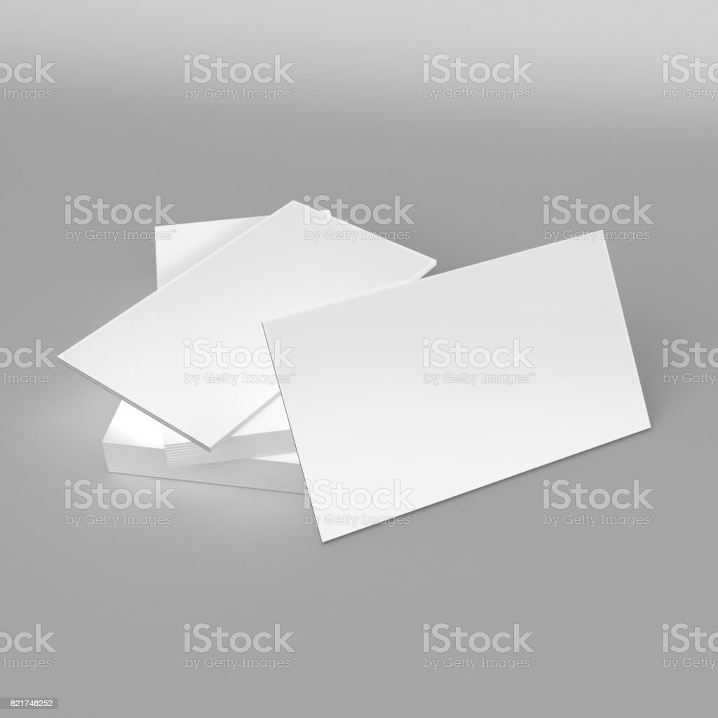 Free download professional 3d style business card template youtube blank white d visiting card and business card template d render 3d business card template cheaphphosting Image collections