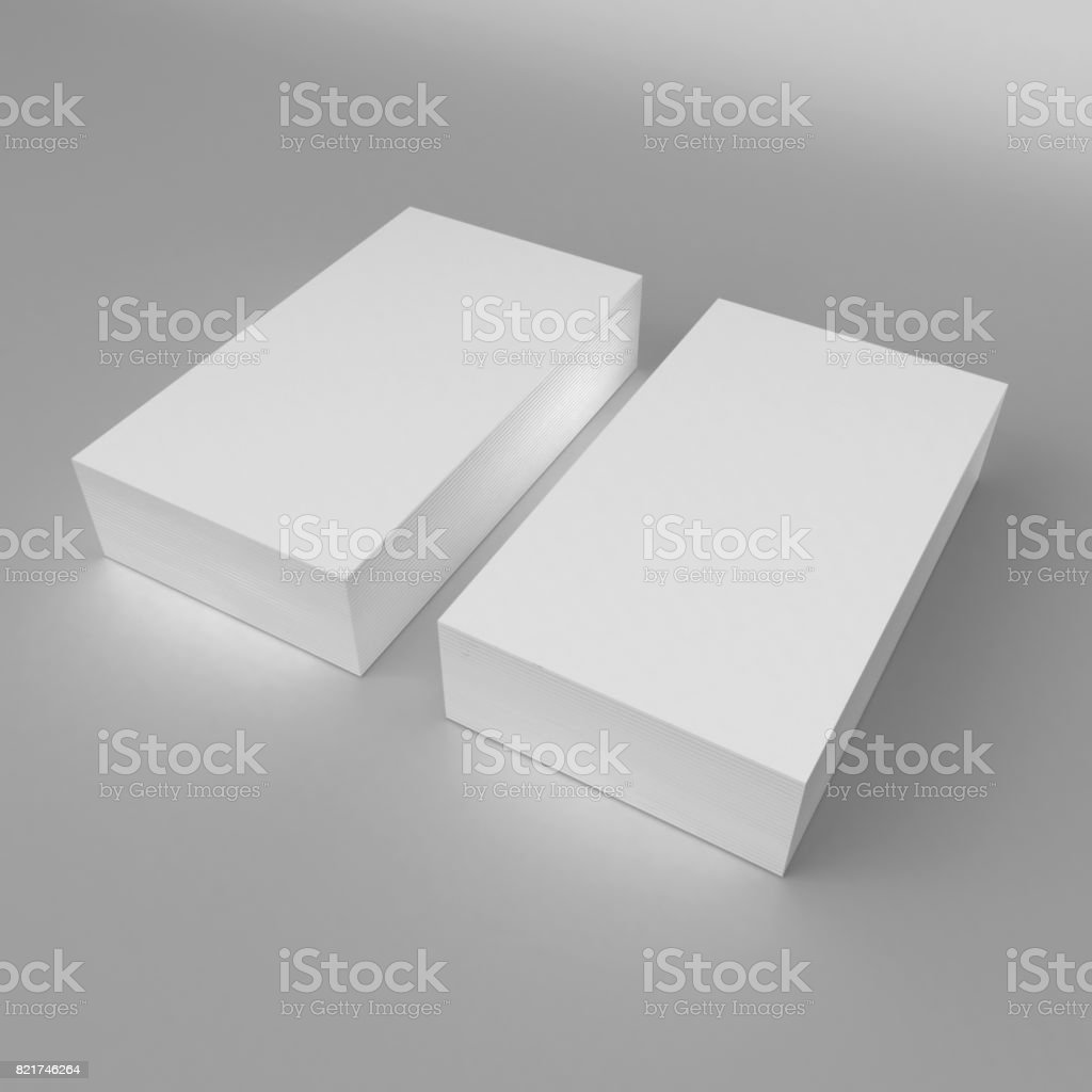 Blank white 3d visiting card and business card template 3d render blank white 3d visiting card and business card template 3d render illustration for mock up and cheaphphosting Images