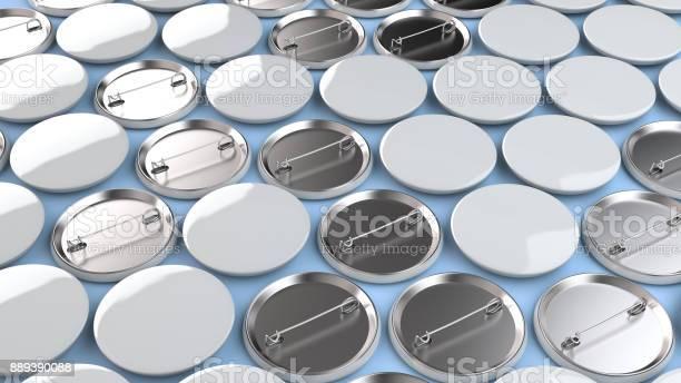 Blank white badges on blue background picture id889390088?b=1&k=6&m=889390088&s=612x612&h=qmpoie1wvktvxktehyp3mgte54jig9qziaxcvz79zrk=
