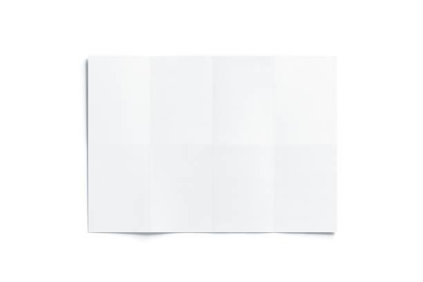 blank vit diagram häfte mockup, öppnas - ihopvikt bildbanksfoton och bilder