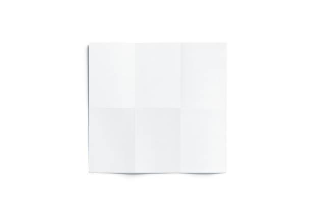 leere weiße karte broschüre mockup, geöffnet - faltpapier stock-fotos und bilder