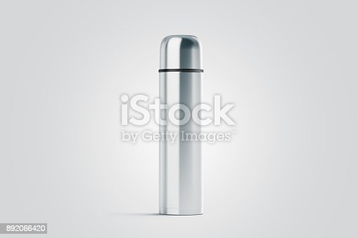 1129148925istockphoto Blank white closed travel thermos mock up 892066420