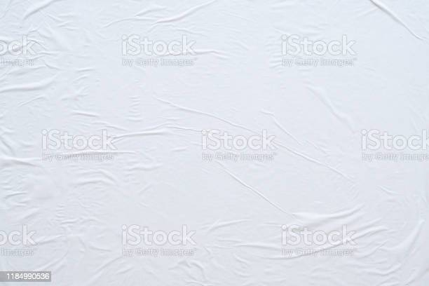 Blank white crumpled and creased paper poster texture background picture id1184990536?b=1&k=6&m=1184990536&s=612x612&h=a9janqk75pjp1e9myazqe   r9gel9cdk avpmtgimg=