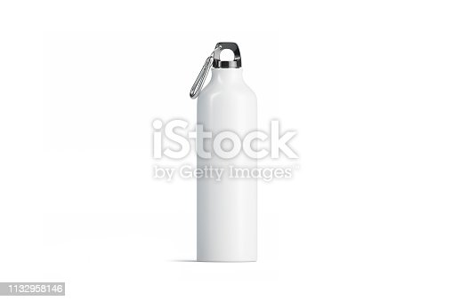 1129148925istockphoto Blank white metal sport bottle mockup, isolated, front view 1132958146